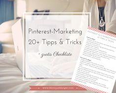 Mit Pinterest hast Du die Möglichkeit, ein Profil zu erstellen und so mit Deiner Zielgruppe in Kontakt zu treten. Wichtig ist es, einige Dinge zu beachten und das Ganze strategisch anzugehen. Diese Checkliste enthält 27 Punkte, damit Du das meiste aus Pinterest herausholen kannst.
