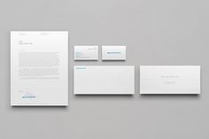 Logo and stationery designed by DIA for custom surfboard maker Fin Collective