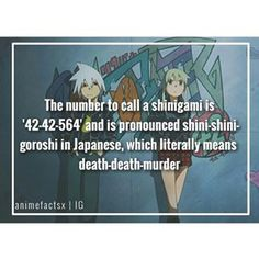 Wow I didn't know. after I watched soul eater, I wrote it on my window. ... death death murder written on my windows