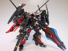 Frame Arms: NSG-Z0/D Magatsuki - Custom Build w/ LEDs
