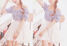 。.:*・°☆кαωαιι fαѕнισи。.:*・°☆ Cute Asian Fashion, Japanese Fashion, Korean Fashion, Cute Dresses, Cute Outfits, Mori Girl Fashion, Ulzzang Fashion, Shirt Skirt, Inspired Outfits
