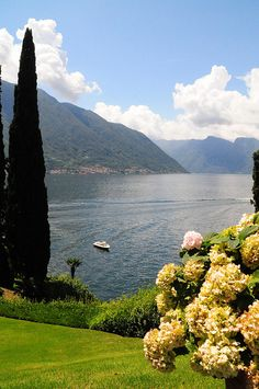 View from Balbianello by kearnine