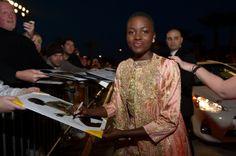 Lupita Nyong'o - 25th Annual Palm Springs International Film Festival Awards Gala - Red Carpet
