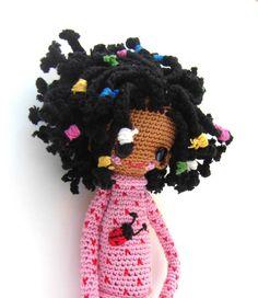 Crochet Doll Pattern - Desireè