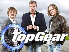 Top Gear UK (The Best, the ORIGINAL)  (From the left) Richard Hammond, Jeremy Clarkson, James May.