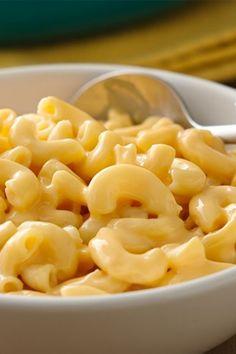 Creamy, dreamy 20-min twist on the classic mac 'n cheese!