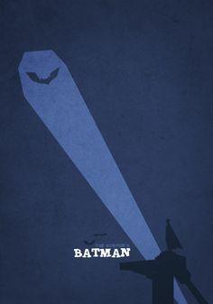 Minimalistic Movie Posters - Batman