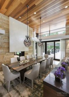 Outside in – contemporary home by Charles R Stinson