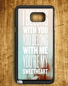 You're My Sweatheart Samsung Galaxy Note Edge Case