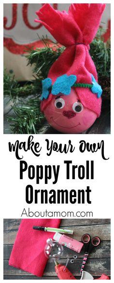 64348381d14 Poppy Troll Ornament Create a Poppy Troll Ornament for Christmas