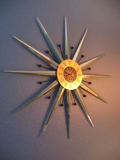 Austin: ***Atomic Starburst Clock*** $180 - http://furnishlyst.com/listings/662364