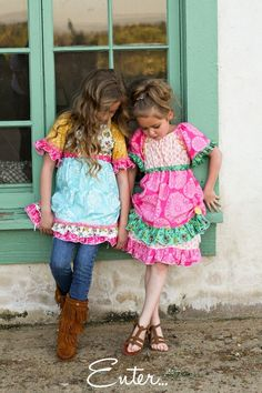 If I ever have daughters, I want them to be this colorful.