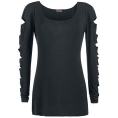 Spiral  Langarmshirt  »Slashed Sleeve« | Jetzt bei EMP kaufen | Mehr Gothic  Langarmshirts  online verfügbar ✓ Unschlagbar günstig!
