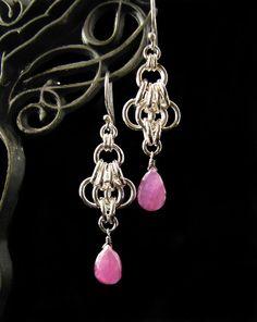 chainmail earrings