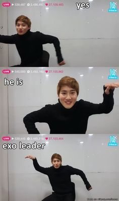 Who is EXO's leader?.. Suho ♥