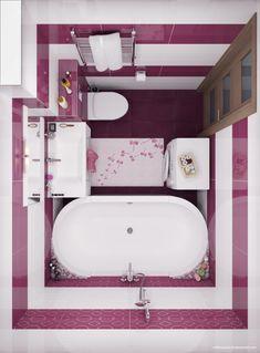 Bathroom Small Mirror Tubs Ideas For 2019 Small Bathroom Plans, Small Bathroom Layout, Bathroom Vanity Designs, Bathroom Interior Design, Rustic Bathrooms, Modern Bathroom, Rental Home Decor, Small Toilet Room, Bath Design