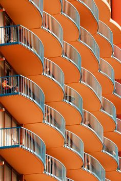 Balconies by Snowonmt on Flickr.