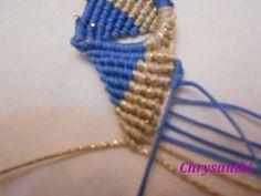 ΔΙΧΡΩΜΟ ΛΟΥΛΟΥΔΙ | kentise Macrame Earrings, Macrame Design, Friendship Bracelets, Jewelry, Anna, Macrame Jewelry, Needlepoint, Pencil Drawings, Jewlery