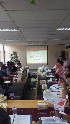 Pengarahan penggunaan e-POS kepada petugas UPPD dan Sudin diwilayah Kota Adm. Jakarta Timur