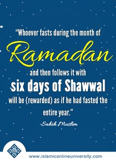 What after Ramadan? Read this article to find out more.
