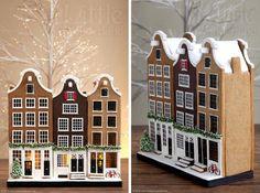 #6 - Dutch Gingerbread Houses by Little Wonderland