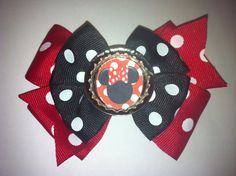 Big girl minnie mouse bow. www.etsy.com/shop/familyon
