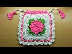 """Monedero Vintage a Crochet """"Maricita"""" (Parte 1) Tutorial por Maricita Colours…"""