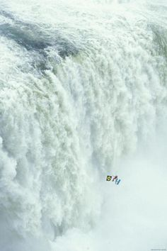zip line on the Devil's Throat, Iguassu Falls OMG!! No way I could do this
