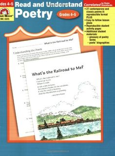 Read & Understand Poetry, Grades 4-5 by Michael Ryall http://www.amazon.com/dp/1557999937/ref=cm_sw_r_pi_dp_ADY9ub0T0S6CF