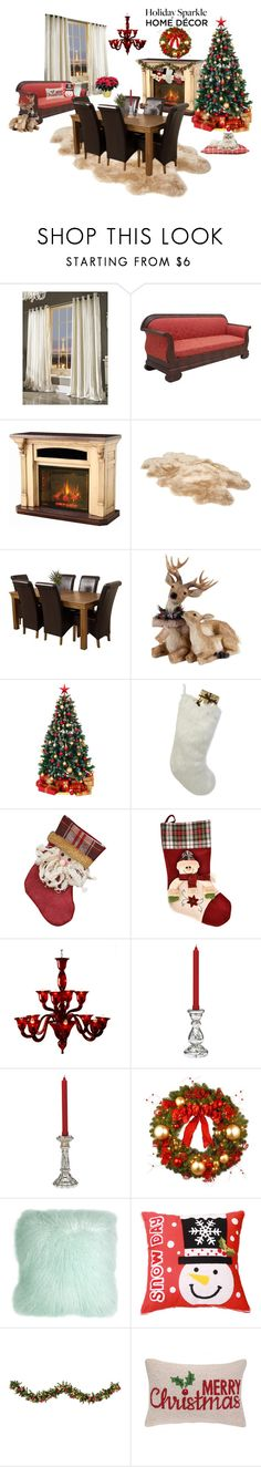 """Deck the Hall for Your Holiday Party"" by matildiwinky ❤ liked on Polyvore featuring interior, interiors, interior design, home, home decor, interior decorating, Kylie Minogue, DutchCrafters, UGG and Helen Moore"