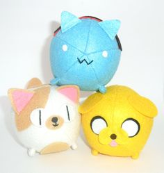 Octopus Adventure Time plushies by Cascayu on Etsy