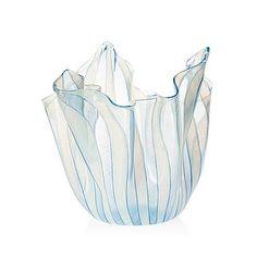 A Fulvio Bianconi & Paolo Venini 'Fazzoetto' glass bowl, Venini, Murano, 1950's.