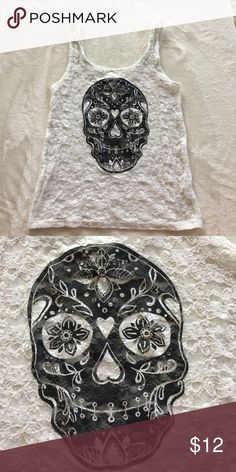 Selling this Divided by h&m skull tank on Poshmark! My username is: britttcaron. #shopmycloset #poshmark #fashion #shopping #style #forsale #Divided #Tops