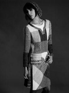 Jamie Bochert Stars in Chanel's Haute Couture Fall 2012 Lookbook by Karl Lagerfeld