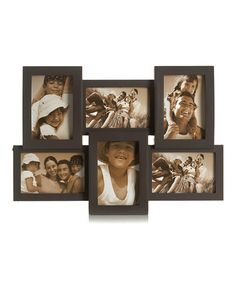 Take a look at this Espresso Collage Picture Frame by Elements by Lifetime Brands on #zulily today!