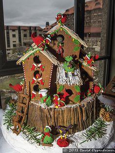 Interesting Gingerbread houses