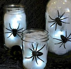 Diy halloween home decor ideas (51)