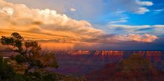 Cloud front moves over the Grand Canyon - Imgur