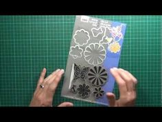 Lostinpaper video tutorial - 'Special' Using Hero Arts / Sizzix Sets