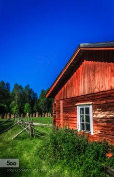 Historical Konttila Farm by jonepekkarinen  Countryside Farm Farming Finland Jone pekkarinen Konttila Kuopio Puijo Summer Trave jonepekkarinen