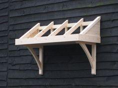 Timber door canopy_Marlborough design