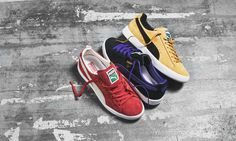 newest 93579 cbacf Puma Clyde SS16 Baskets Vans, Chaussures Puma, Nouvelles Chaussures, Puma  Classic, Rétro