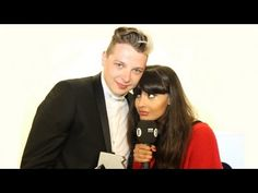 John Newman shows Jameela his shuffle! Also explains the ending to Love Me Again. Announced #1 on UK charts. And his laugh. This video is worth just his laugh.