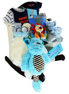 The Pinch Me I'm Cute Rocking Horse Gift Basket is a real show stopper. It features a rocking horse that will bring joy to anyone who receives this Gift and will be remembered for a lifetime! Two Piece Clothing Sets, Baby Washcloth, Gourmet Gift Baskets, Cute Bears, Newborn Pictures, Little Man, Baby Items, Baby Car Seats