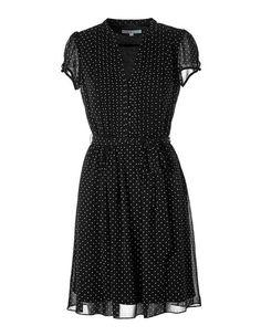Chiffon Button Front Dress