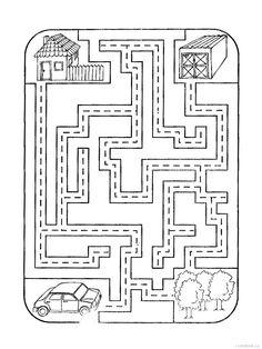 printable robot maze : Printables for Kids