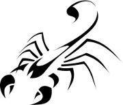 Scorpion Tattoo Sample Again