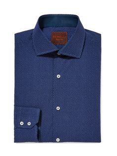 Dotted Cotton Dress Shirt by GEMELLI at Gilt www.GemelliShop.com