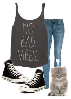 """No Bad Vibes"" by kiki0122 ❤ liked on Polyvore featuring Billabong, Converse, women's clothing, women, female, woman, misses and juniors"