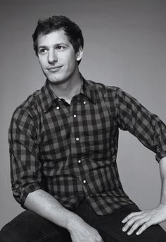 Andy Samberg in the July issue of ELLE!